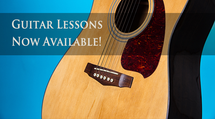 Guitar lessons available